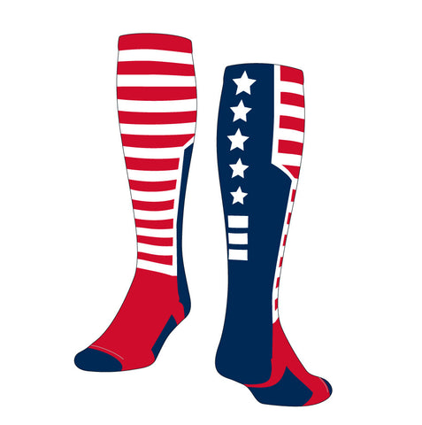 USA Flag Knee High