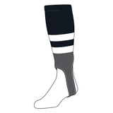 TCK Baseball Stirrups Medium (200G, 5in) Black, White, Graphite