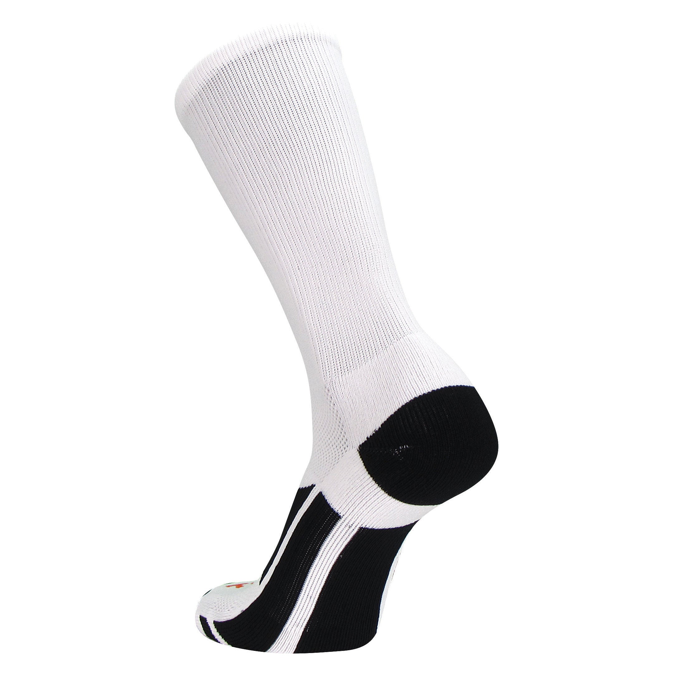 TCK Elite Performance 2.0 Solid Color Football Basketball Crew Socks