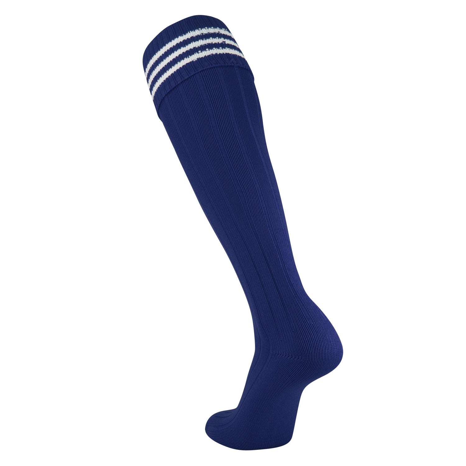 TCK European Style 3 Stripe Soccer Socks in Nylon
