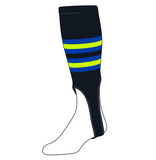 TCK Baseball Stirrups Medium (200I, 7in) Black, Royal, NEON Green