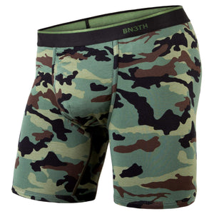 BN3TH Men's Classic Boxer Brief-Prints Collection: Camo Green