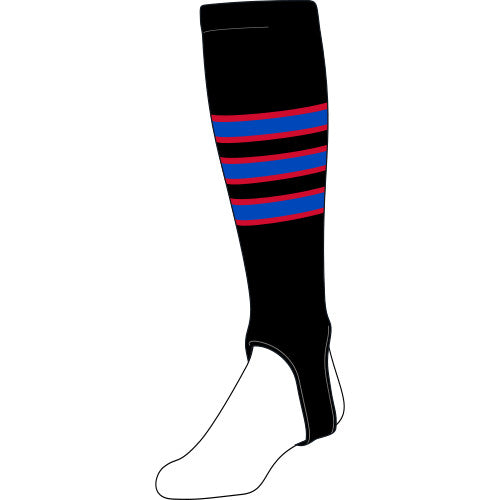 Custom 4 inch knit-in stirrup
