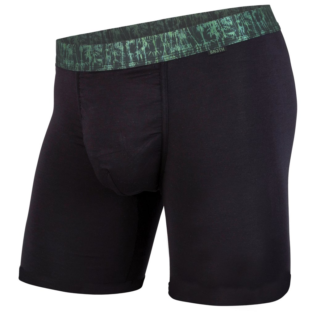 BN3TH (MyPakage) Classic Modal Boxer Brief: Black Bamboo