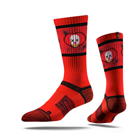 Strideline Assembly Clown Hunter, Strapped Fit 2.0, Red Crew Socks, NEW