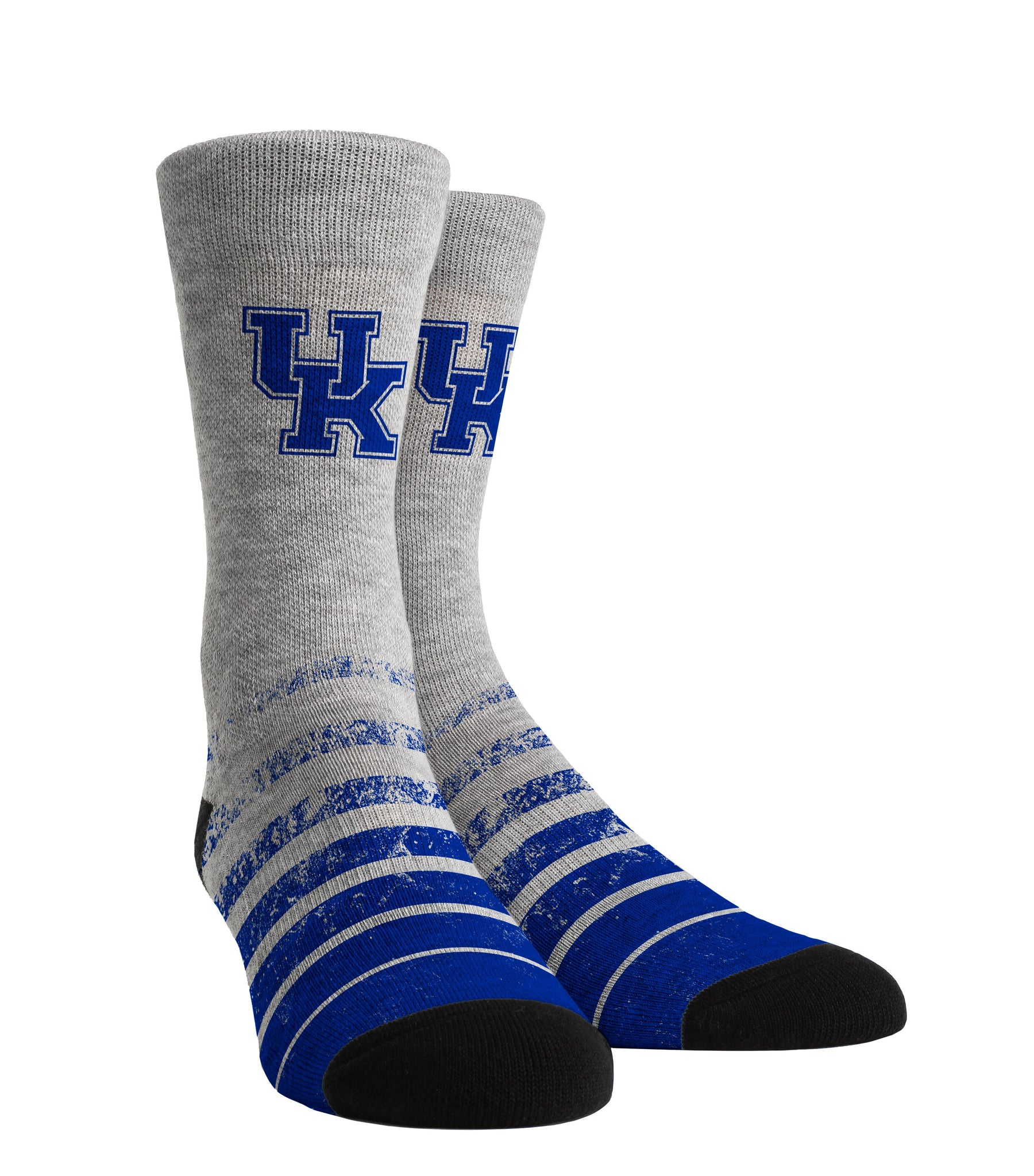 Rock 'Em Elite Kentucky Wildcats Vintage Heather Crew Socks