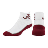 Topsox Alabama Crimson Tide Padded Ankle Socks NCAA Licensed