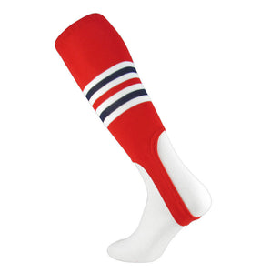 TCK St Louis Cardinals Baseball Stirrups Red White Navy, 7 inch cut