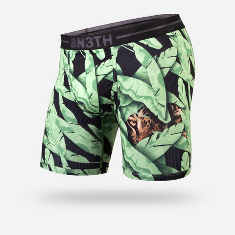 BN3TH (MyPakage) Entourage Low-Pro Boxer Brief: Eye Spy Leopard
