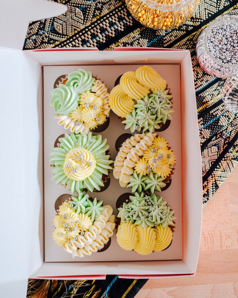 Cupcake Of The Month: May 2021 - Pineapple Tart