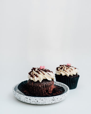 Nutella Red Velvet Cupcake