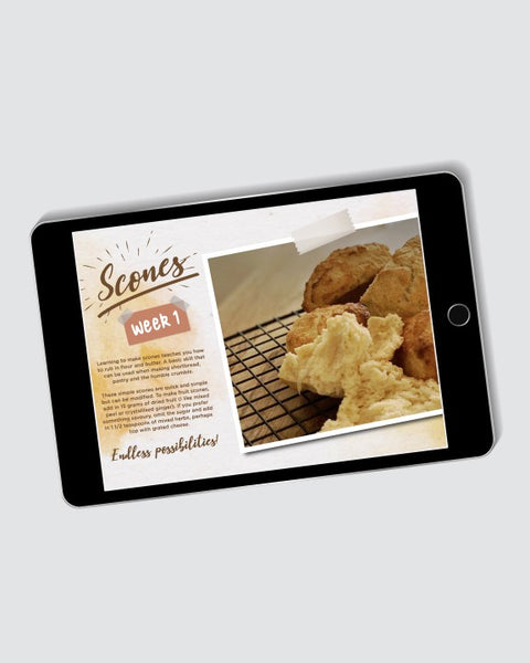 Bake With Bisou Digital Recipe Book