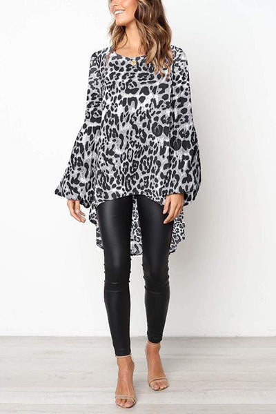 Leopard Swallow T Shirt