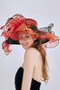 Organza Layer Flower Hat