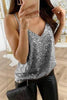 Sparkling Sleeveless Tank Top
