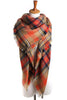 Plaid Shawl Scarf