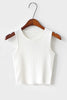 Solid Tank Crop Top