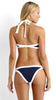 Nautical Navy Blue Halter Bikini Bathing Suits
