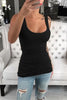 U Neck Sleeveless Tank Top