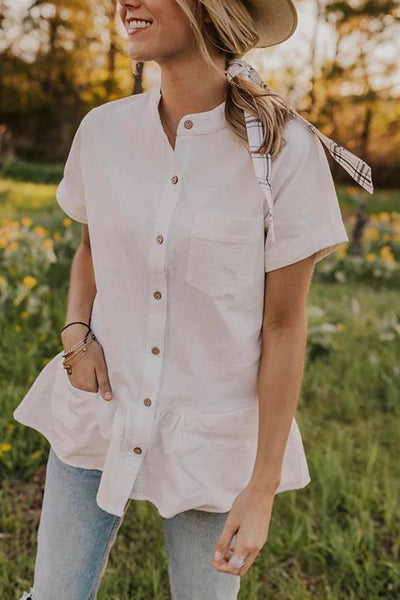 Button Short Sleeve Shirt