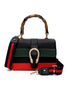 Bamboo Joint Color Block Hand Bag