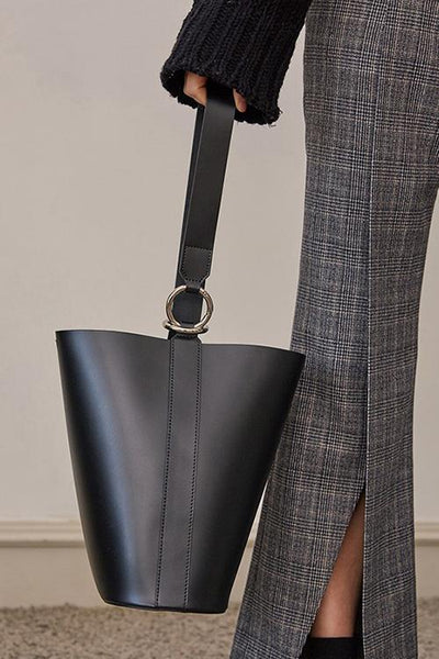 PU Bucket Handbag