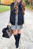 Faux Fur Warm Vest