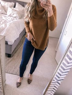 Khaki Pullover Fashion Winter Sweater