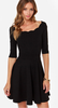 Women  Party Lace  Skater Dress