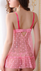 Women's Polyester/Lace Robes/Ultra Sexy/Suits Backless Nightwear/Lingerie