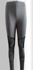Women Solid Color / Cross - spliced Legging,Polyester Pants
