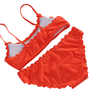 Women's Orange Wavy Sexy Bikini/Fresh