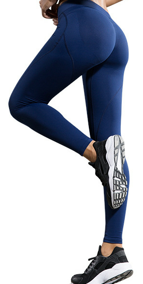 Women Solid Color Legging,Polyester/Yoga/Pants