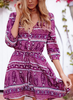 Women Causal Maxi Long/Short Dresses /Short Sleeve