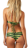Summer Sexy Watermelon Halter Lace-up Bikini