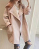 Wide-lapel Oversize Wool Coat