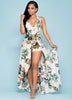 Here Comes The Beauty Floral Print Dress