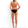 Cartoon Face Print Sporty Bikini Suits