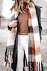 Tassels Color Block Scarf