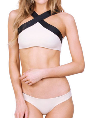 2 Piece Cross Reversible Bikini Set