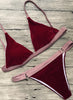 Fashion 2 Piece Triangle Bikini Set