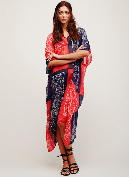 Loose Long Cover-up Beachwear