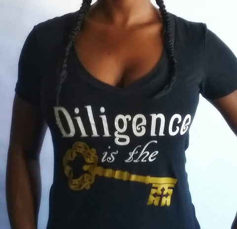 "Winter Woman's Apparel ""Diligence is the Key"""