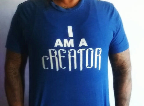 """I am a Creator"" Men's Apparel"