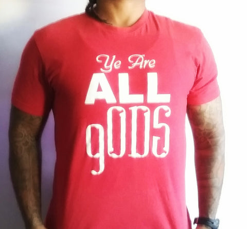 """Ye are all gODS"" Men's Apparel"