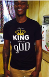 """Think as a King Appear as a gOD"" Men's Apparel"
