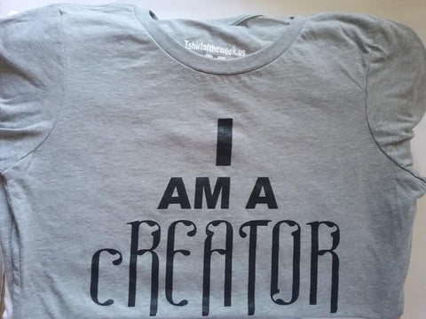 "Winter Apparel ""I Am A cREATOR """