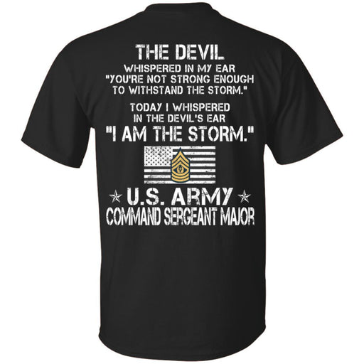 11- I Am The Storm - Army Command Sergeant Major CustomCat