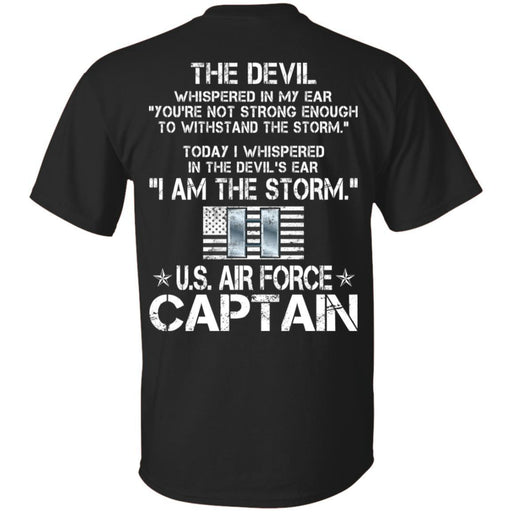 13- I Am The Storm - US Air Force Captain CustomCat