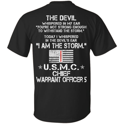 16- I Am The Storm - USMC Warrant Officer 5 CustomCat